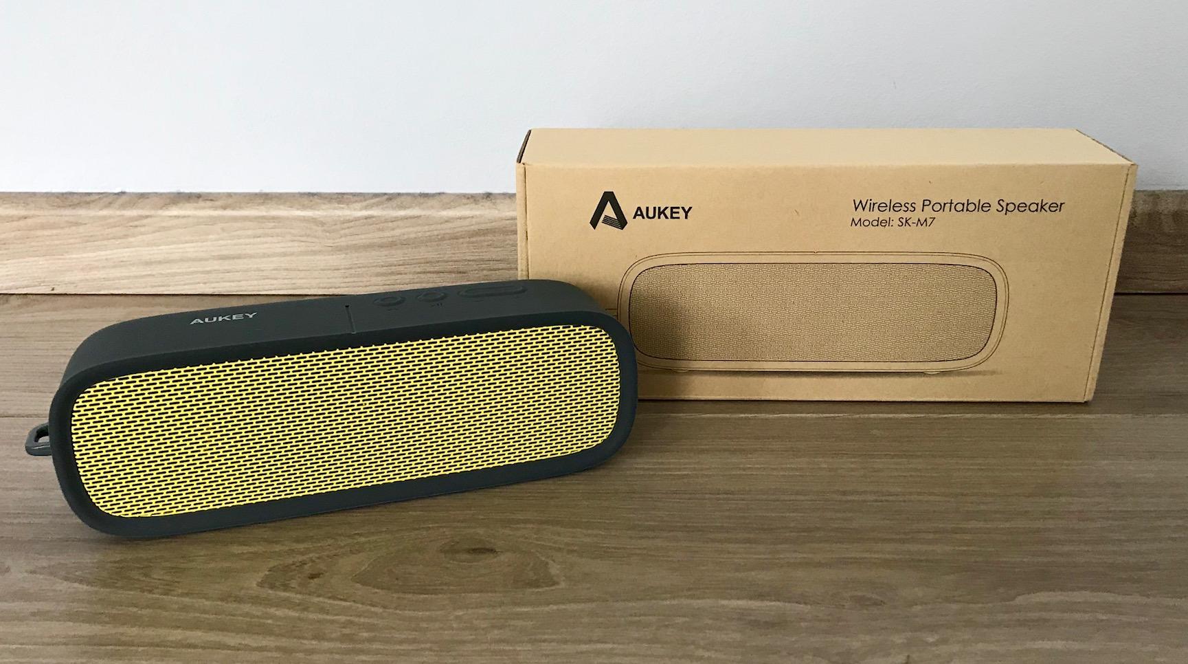 Aukey SK-M7 Test