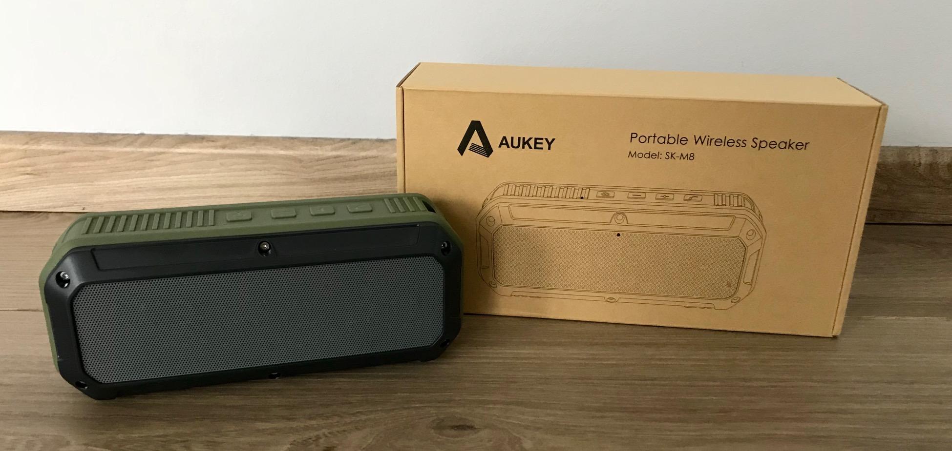 Aukey SK-M8 Test