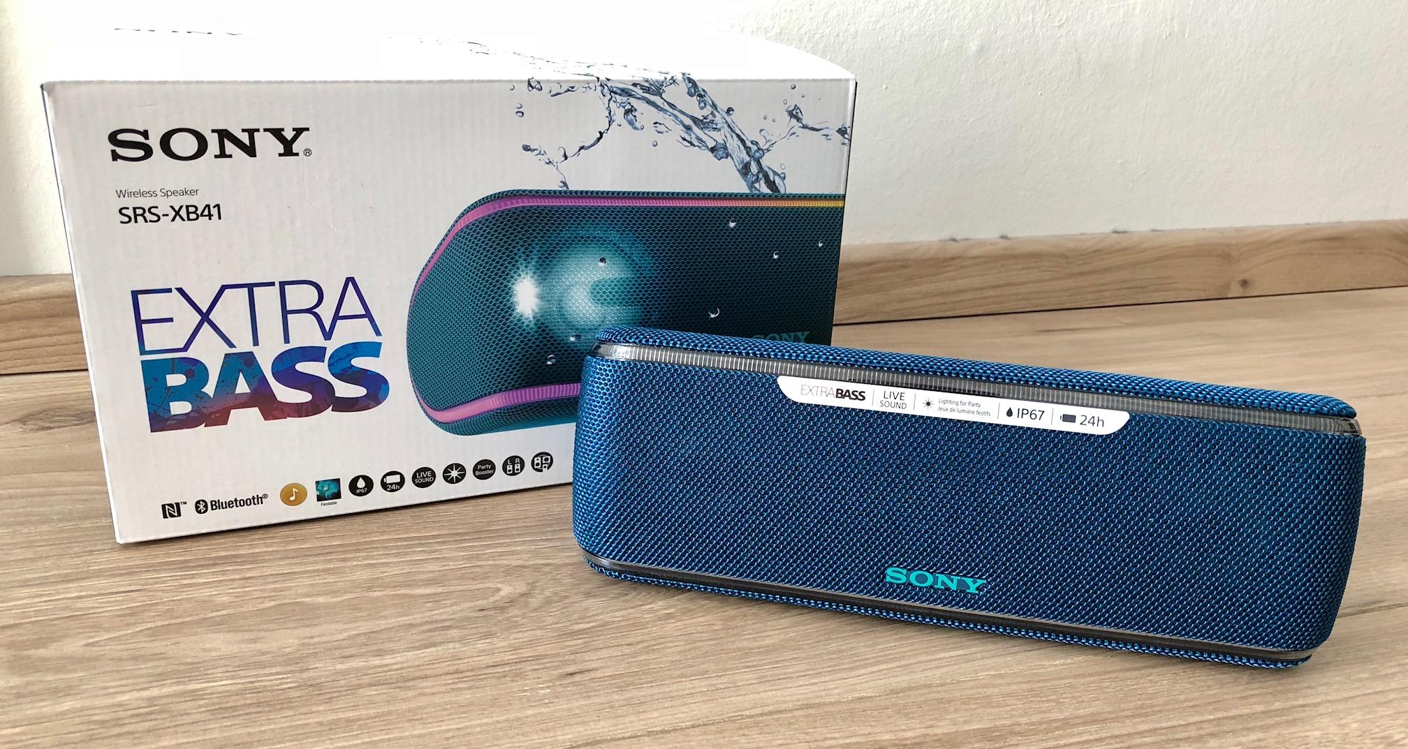 Sony XB41 Test
