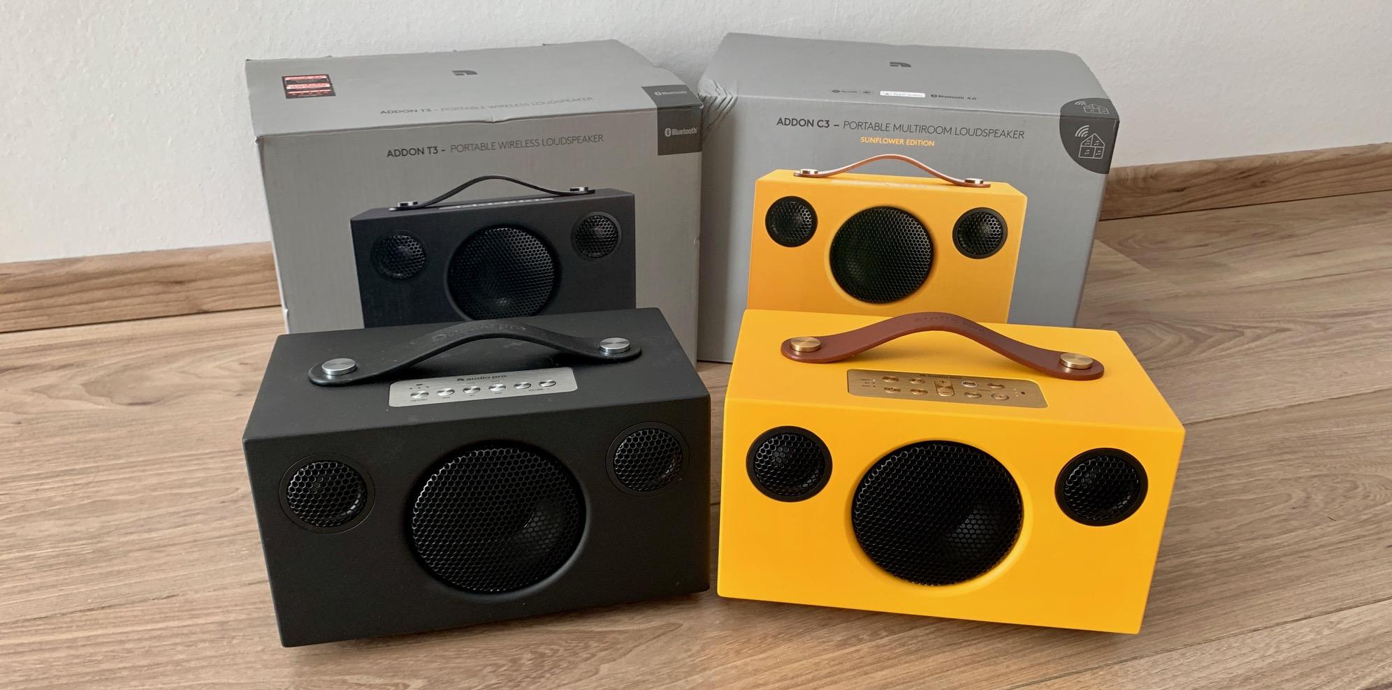 Audio Pro Addon T3 und Addon C3 Test